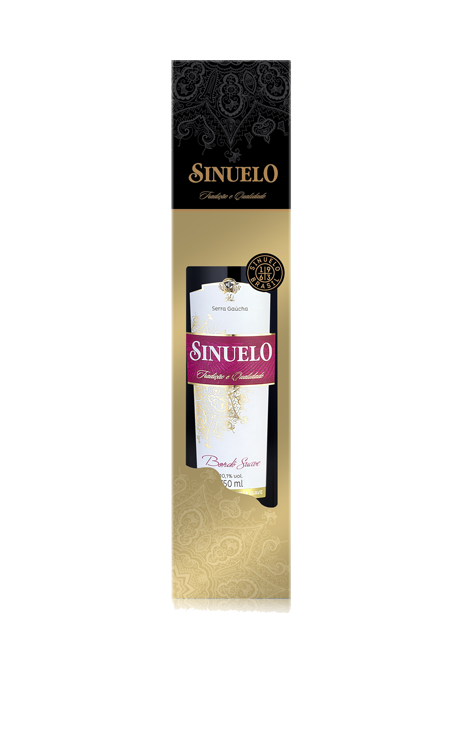 d0f45251b Vinhos de Mesa Sinuelo + Cartucho. Vinho Bordô Suave ...